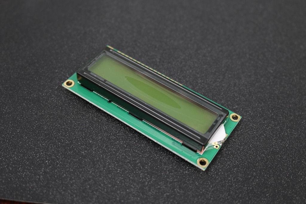 16x2 LCM Character LCD Display (Yellow Backlight)