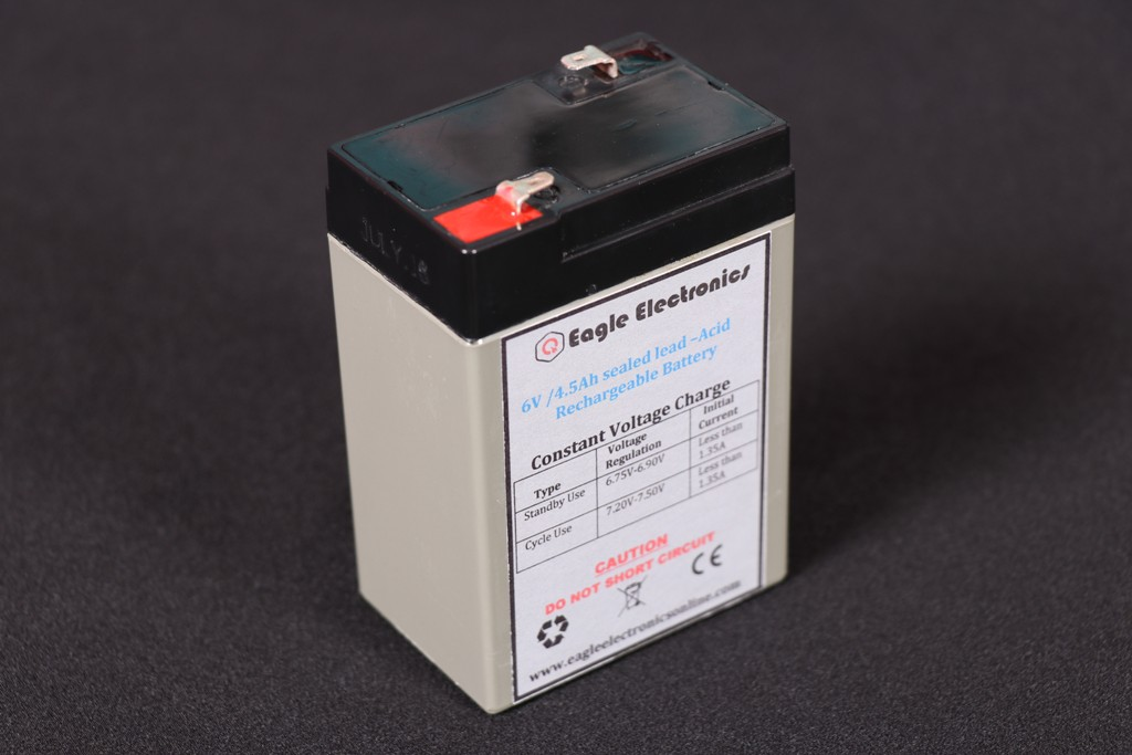 6v 4.5ah Rechargeable Lead Acid Battery