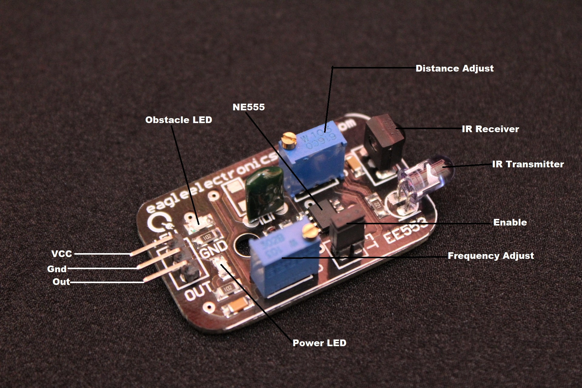 Tsop Infrared Obstacle Avoidance Sensor Module Hall Effect Pic8051avr Usb Programmerdevelopment Boards Write A Review